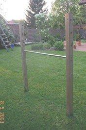 Super Anleitung zum Bau eines Kinder-Turnreck für den Gartenbereich YU46